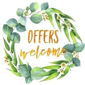 Offers welcome 🌿